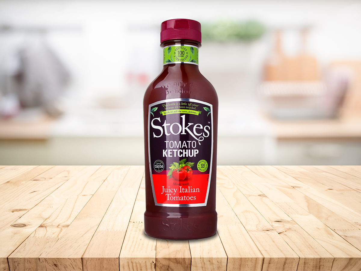 Stokes Tomato Ketchup 485 g - Squeeze Bottle