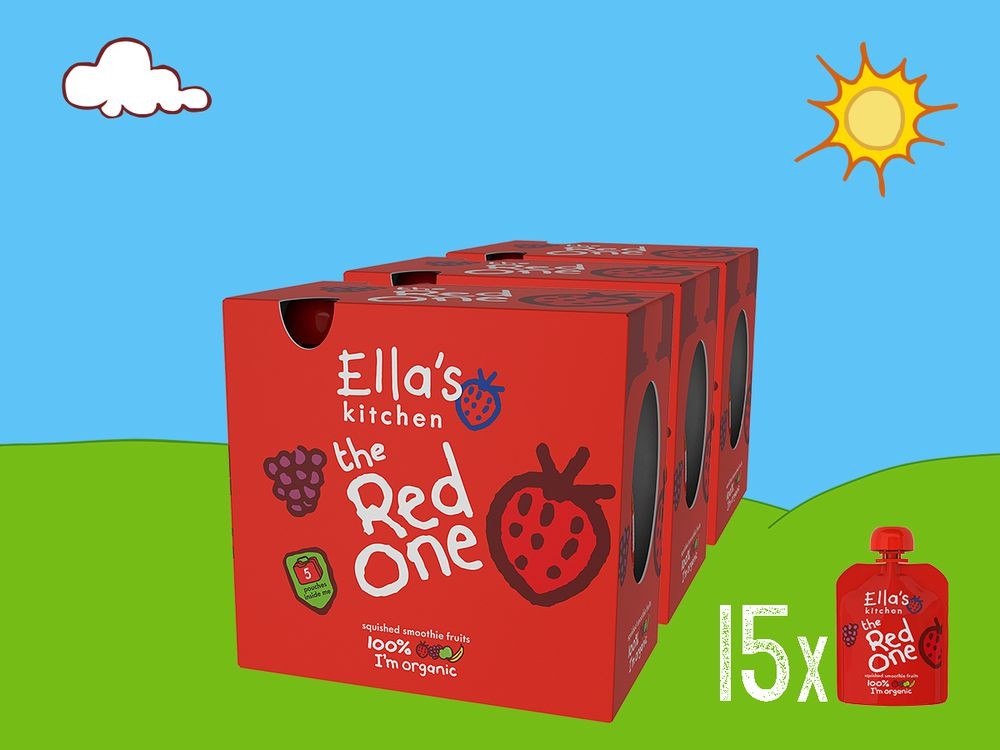 Ella's Kitchen the Red one Bio 3x Mulitpack à 5x90 g