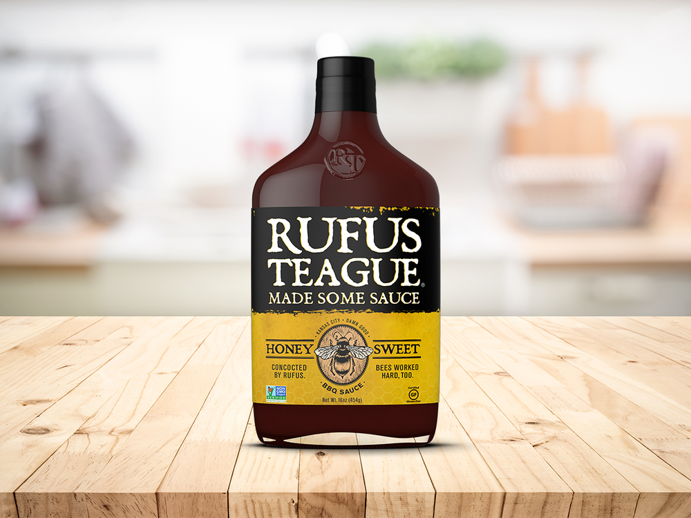 Rufus Teague BBQ Sauce Honey Sweet 375 ml